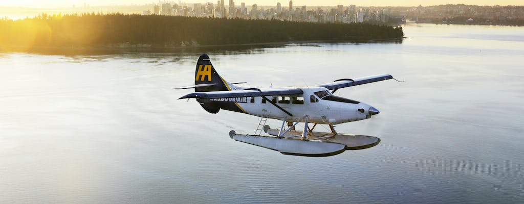 Alpine Lakes and Glaciers seaplane tour from Vancouver