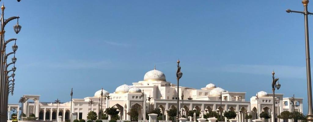 Prywatna wycieczka do Abu Zabi z wizytą Qasr Al Watan