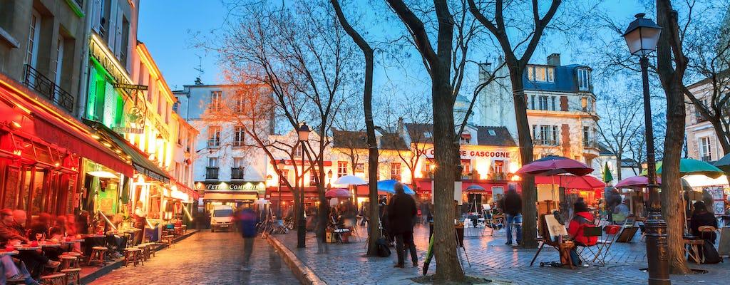 Ужин на Монмартре и шоу в Мулен Руж Париж