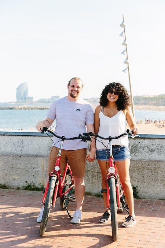 Barcelona small-group bike tour