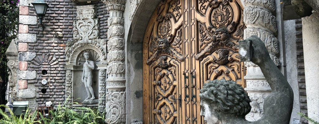 Мексика разведочное городе игра и экскурсия в Chimalistac