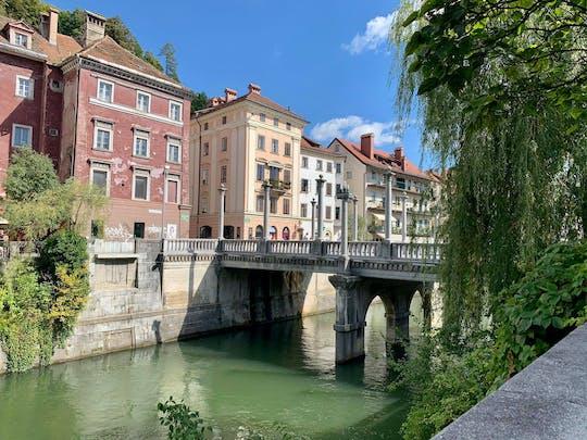 Ljubljana city exploration game and tour