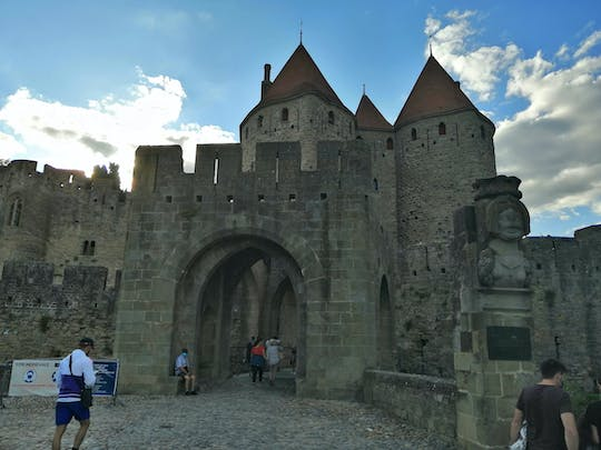 Medieval Carcassonne exploration game and tour