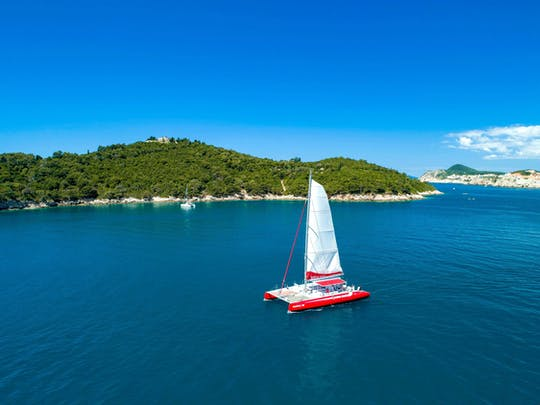 Lokrum Island Catamaran Cruise