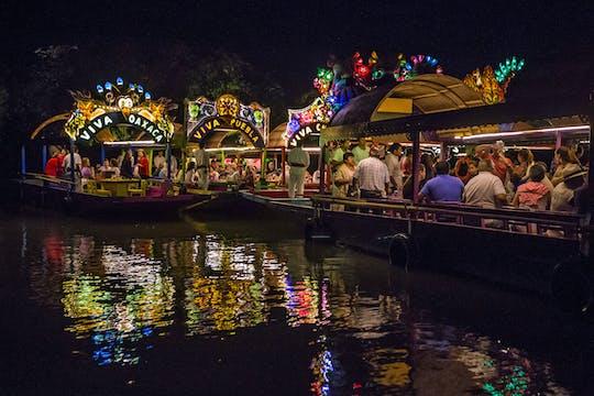 Dîner croisière Xoximilco - billet