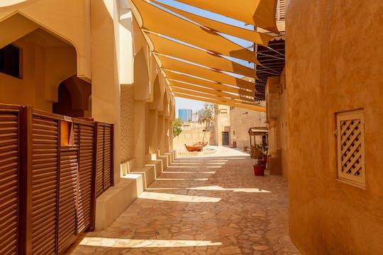 Jogo e passeio de exploração histórica da cidade de Dubai