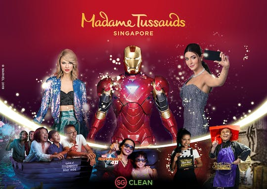 Madame Tussauds Singapore 5-in-1 VR bundle ticket with Digi photo pass