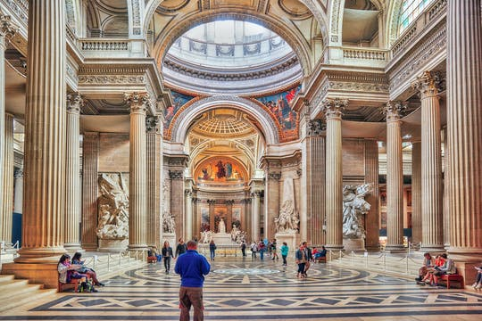 Combo tickets for Pantheon and Seine River Cruise