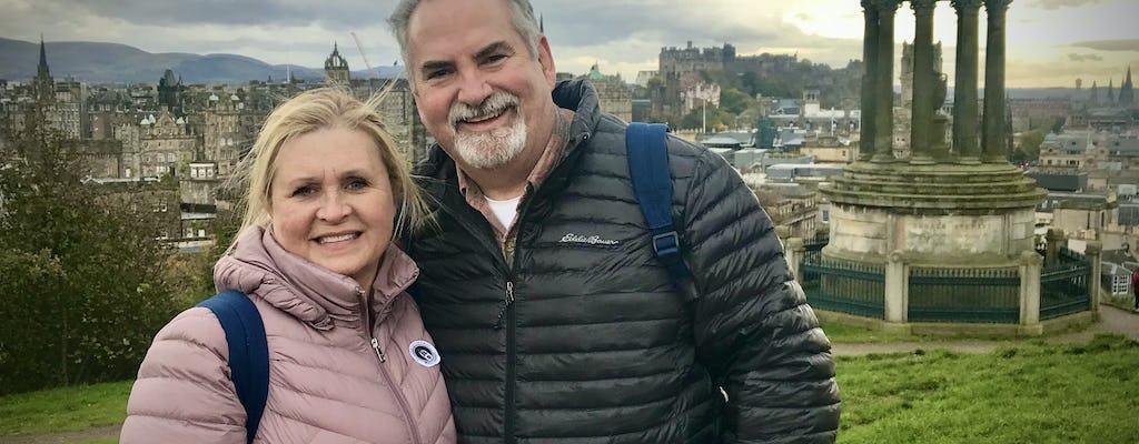 Dal Castello di Edimburgo ad Arthur's Seat con un tour a piedi privato e personalizzato al 100%
