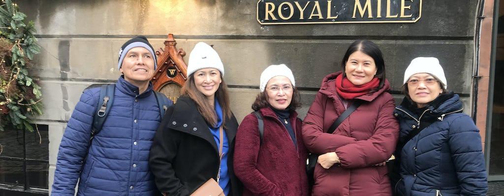 Tour privado a pie de medio día por Edimburgo con un local: 100% personalizado