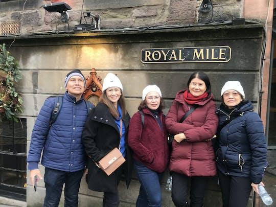 Passeio a pé privado de meio dia em Edimburgo com um local - 100% personalizado