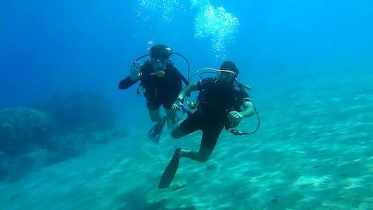 Snorkeling lub nurkowanie do Akrotiri