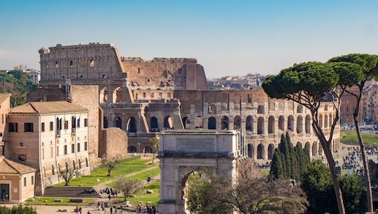 Colosseum self-guided audio tour