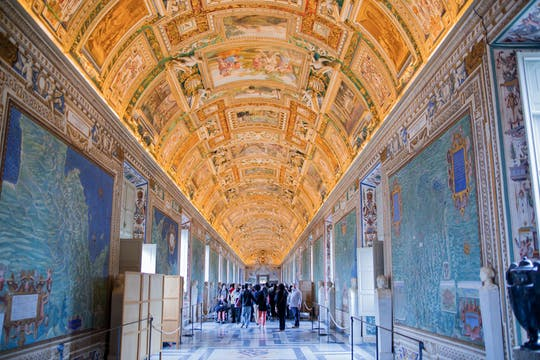 Tour de áudio autoguiado pelos Museus do Vaticano e Capela Sistina