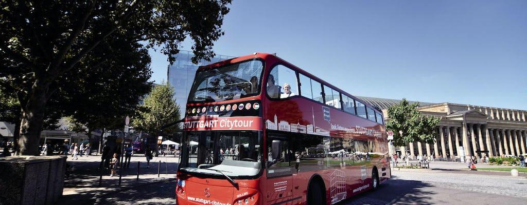 24-hour Stuttgart hop-on hop-off bus tour - green route
