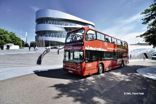 24-hour Stuttgart hop-on hop-off  bus tour - blue and green route