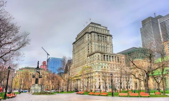 Passeio privado a pé pelo centro de Montreal e pela cidade subterrânea