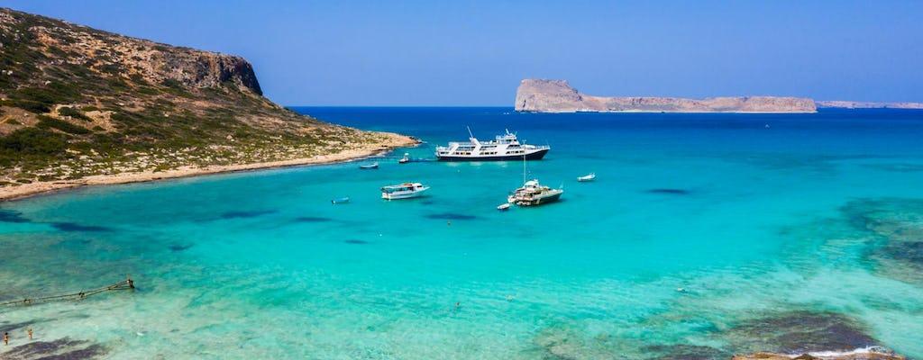 Tour di gruppo dell'isola di Gramvousa e della laguna di Balos da Rethymno