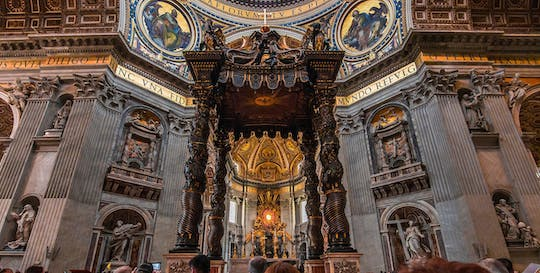 Virtual tour of St. Peter's Basilica from home