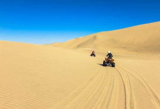Experiencia en quad en el Sahara con cena