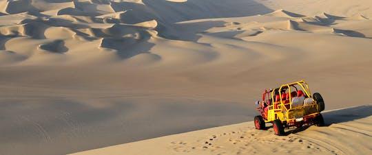 Experiencia en buggy de arena en el Sahara con cena.