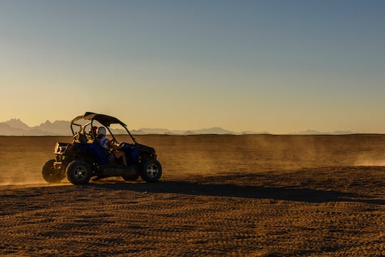 Morning or evening sand buggy adventure