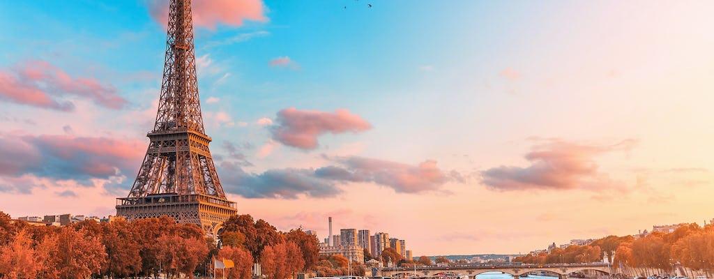 Croisière sur la Seine avec dégustation de crêpes françaises près de la tour Eiffel