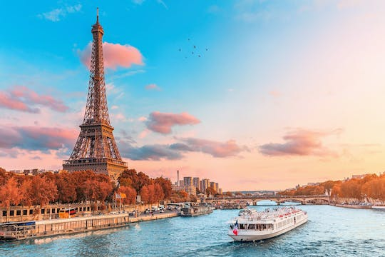 Seine River cruise with French crepe tasting near the Eiffel Tower