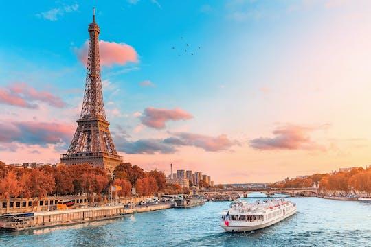 Crociera sulla Senna con degustazione di crepe francesi vicino alla Torre Eiffel