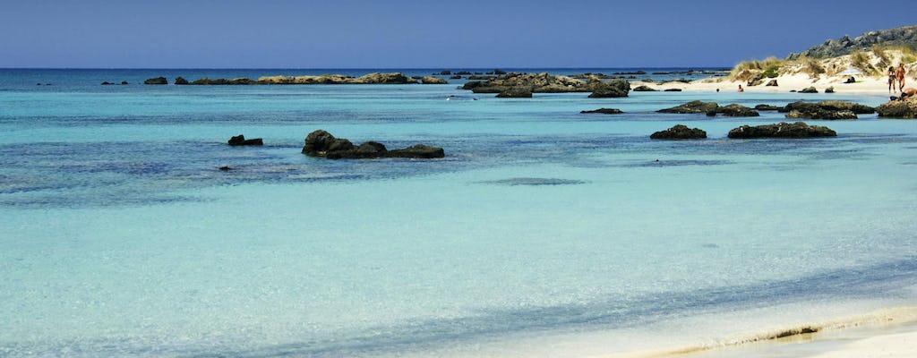 Visite guidée de la plage d'Elafonisi et du lagon de Balos