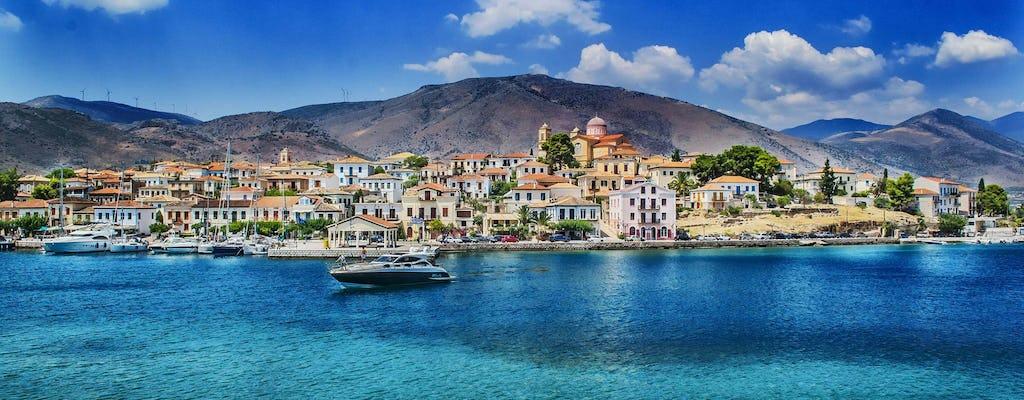 Privécruise naar de eilanden Kea en Kythnos vanuit Athene