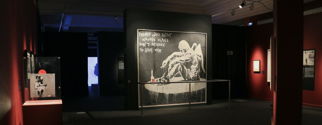 Entradas sin colas para la exposición temporal de Banksy: The Street is a Canvas