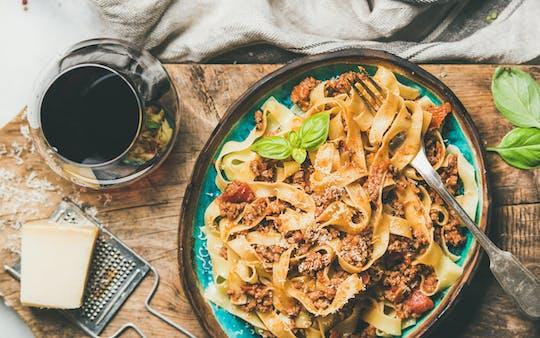 Visite gastronomique de rue au cœur de Bologne