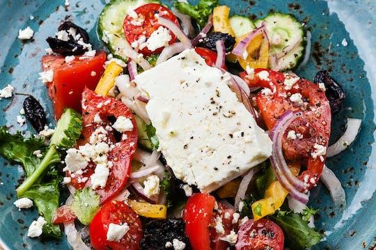 Privéproeverij van de Griekse gastronomie in Athene