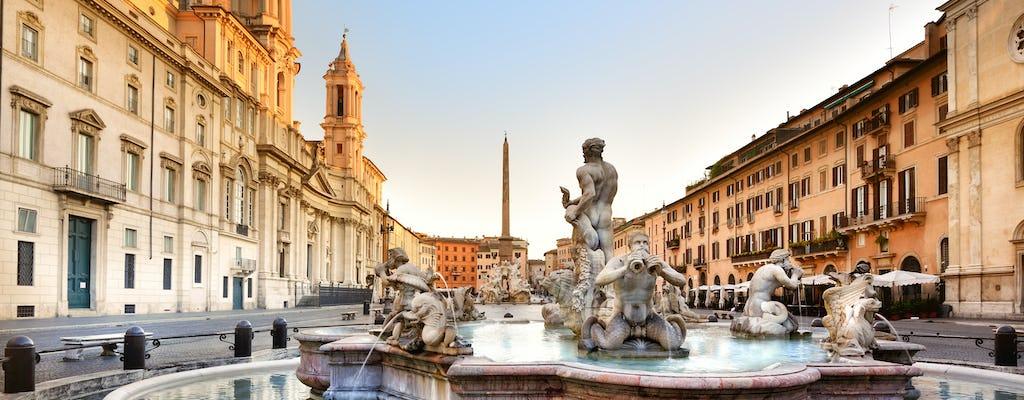 Roms Höhepunkte und U-Bahnen Kleingruppentour