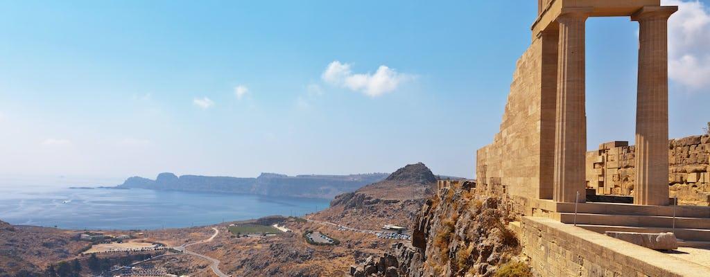 Тур в Линдос на берегу моря в городе Родос