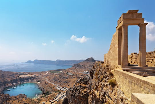 Tour of Lindos by the sea in Rhodes
