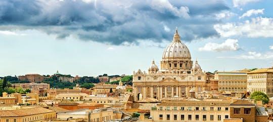 Tour privato dalla cupola della Basilica di San Pietro alle grotte sotterranee