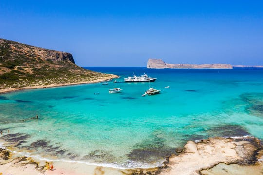 Guided tour of Gramvousa and Balos lagoon from Chania