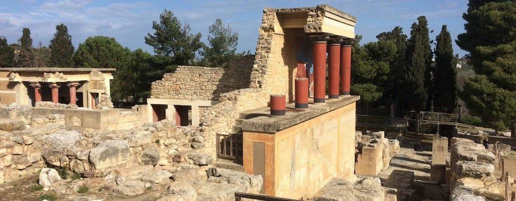 Экскурсия в Кносс и Ираклион из Ханья