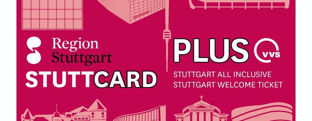 StuttCard with public transport for 24h, 48h or 72h