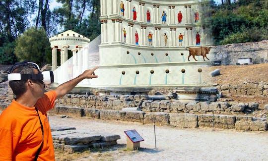 L'Olympie antique avec un iPad