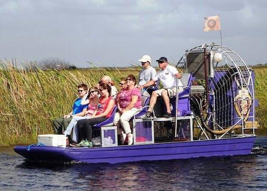Visite à la journée du parc des Everglades à Miami