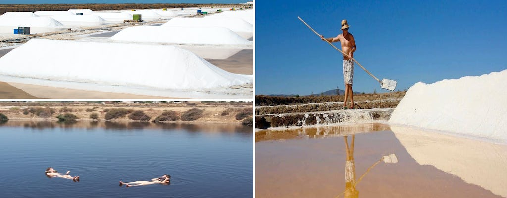 "Salt Ponds guided tour with bathing in the Portuguese ""Dead Sea"" in Algarve"