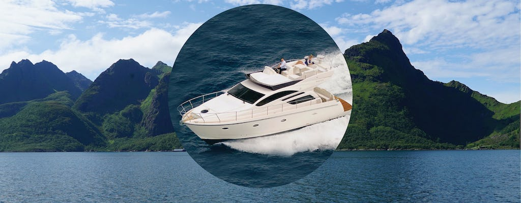 Private fishing experience in Tromsø in a luxury yacht
