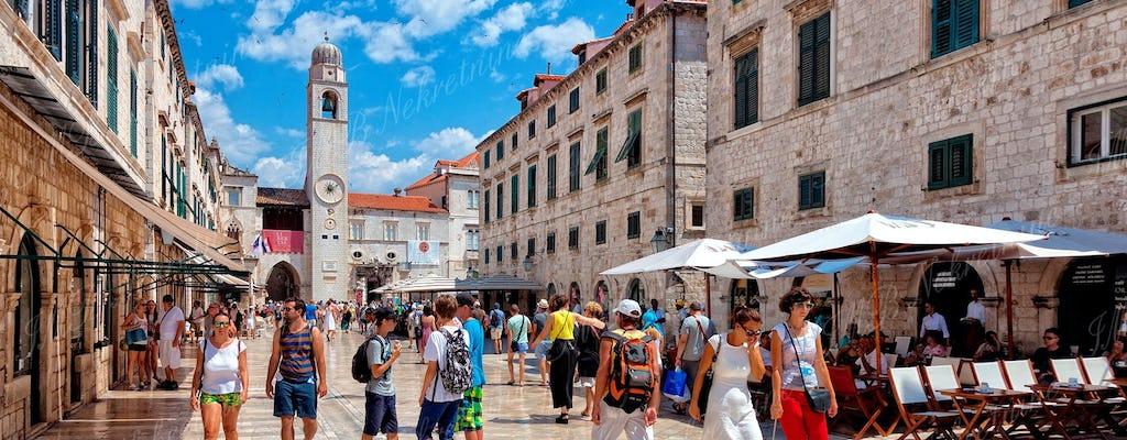 Vieja de Dubrovnik recorrido por la ciudad a pie