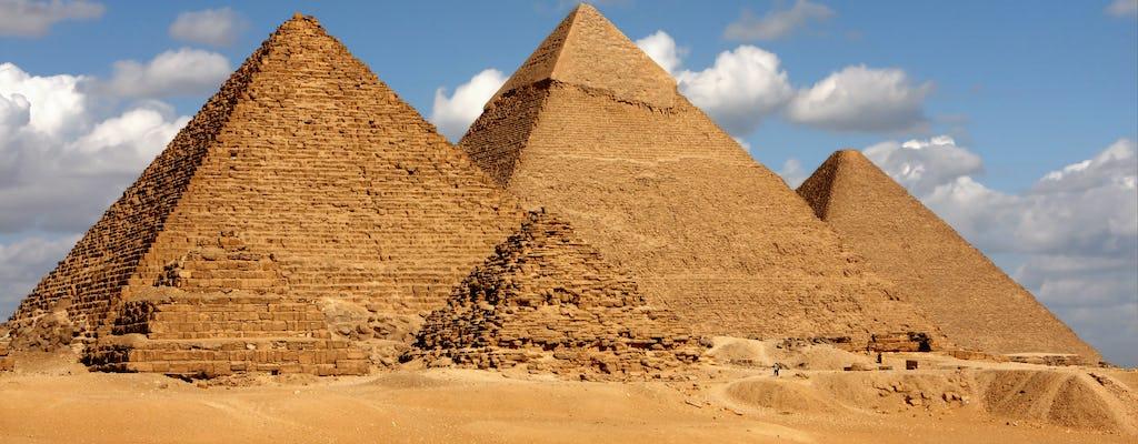 Passeio pelas Pirâmides de Gizé, Esfinge e Museu Egípcio saindo de Sharm