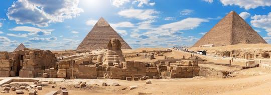 Piramidy w Gizie, Sfinks i Muzeum Egipskie z Kairu