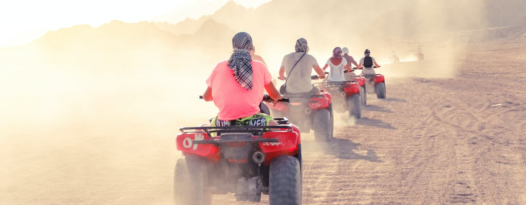 Half-day quad bike tour and water sports from Sharm