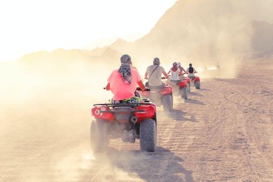 Tour de medio día en quad y deportes acuáticos desde Sharm
